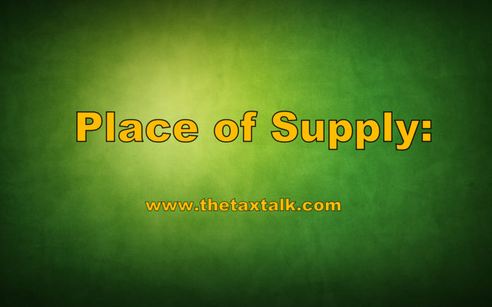 Place of Supply: