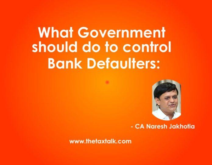 bank defauter