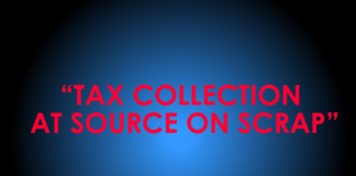 TAX COLLECTION AT SOURCE ON SCRAP