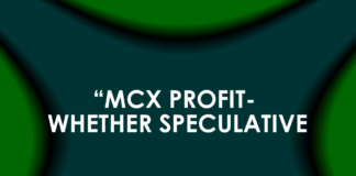 """MCX PROFIT- WHETHER SPECULATIVE?"""