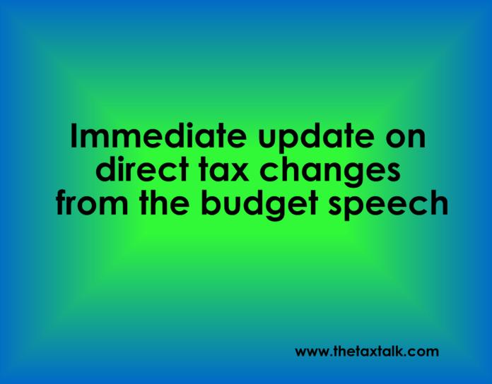 financial budget speech