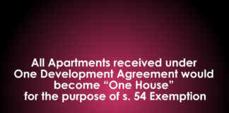 """Multiple flats received via one development agreement can be treated as """"one house for Capital Gain Exemption: Hyderabad ITAT"""