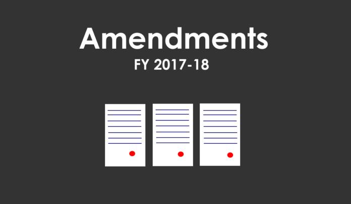 amendment 2017-18