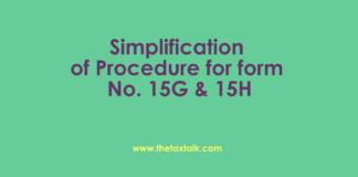 Simplification of Procedure