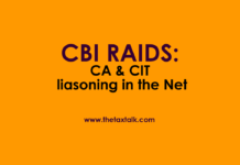 CBI RAIDS: CA & CIT liasoning in the Net