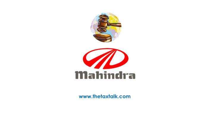 Mahindra and Mahindra Ltd