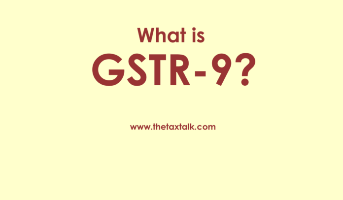 GSTR-9