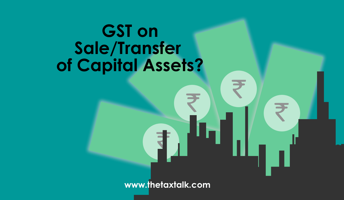 Transfer of Capital Assets