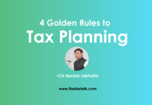 Rules to Tax Planning