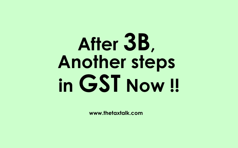 another steps in GST