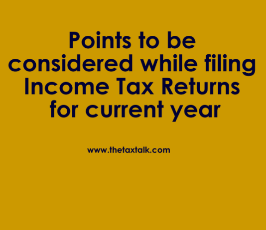 filing Income Tax Returns