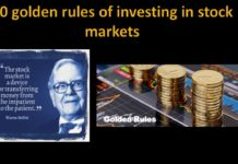 golden rules of investing in share market