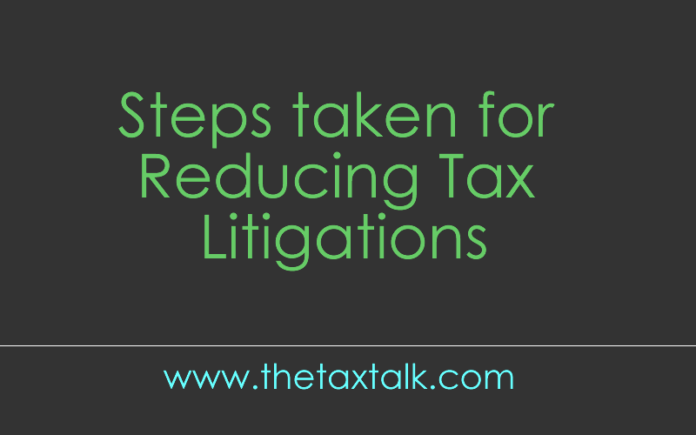 Reducing Tax Litigations