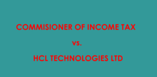 commissioner of income tax vs HCL technologies