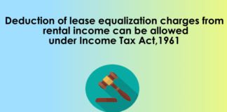 deduction of lease equalization