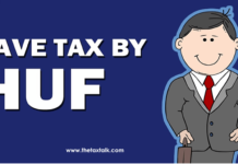 how to save tax by forming HUF