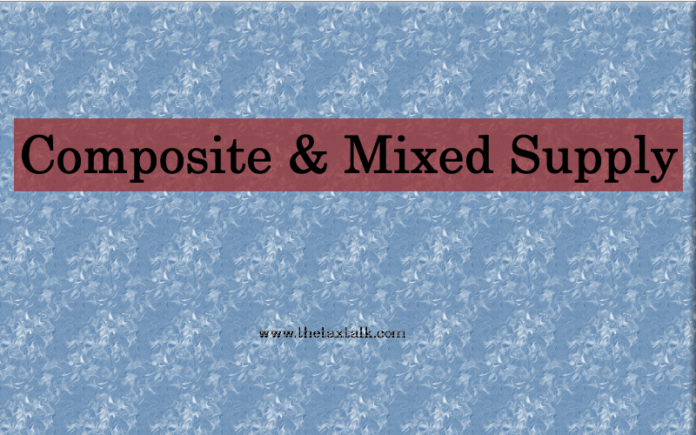 Composite & Mixed Supply.