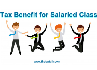 Tax Benefit for Salaried Class
