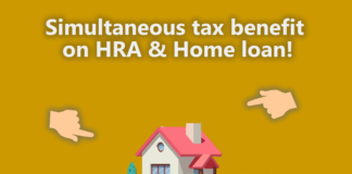 Simultaneous tax benefit on HRA & Home loan!