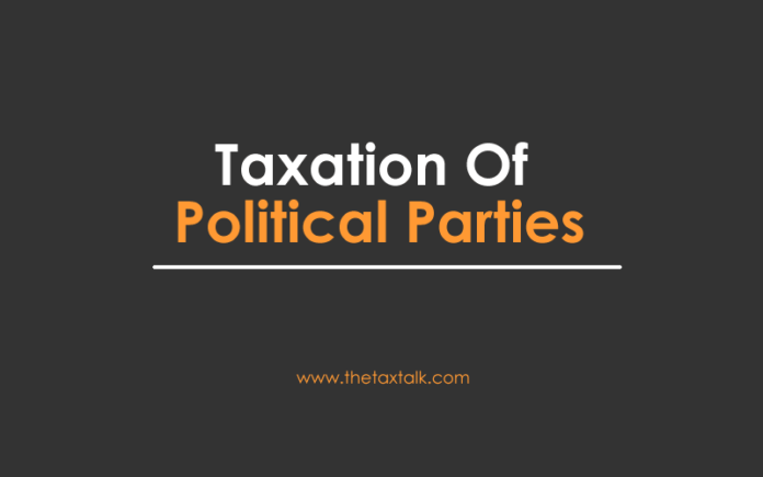 Taxation Of Political Parties