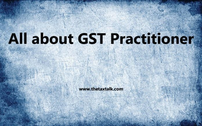 All about GST Practitioner