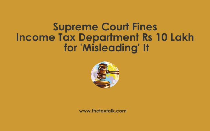 Supreme Court Fines Income Tax