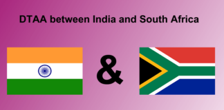 DTAA between India and South Africa