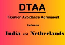 DTAA between India and Netherland