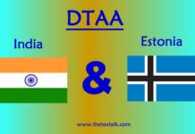 DTAA between India and Estonia