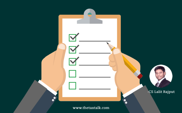 PROCEDURAL CHECKLIST FOR CONVERSION OF PARTNERSHIP FIRM INTO PRIVATE COMPANY.