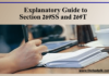 Explanatory Guide to Section 269SS and 269T