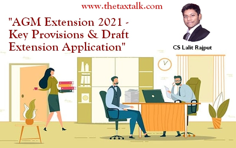"""""""AGM Extension 2021 - Key Provisions & Draft Extension Application"""""""