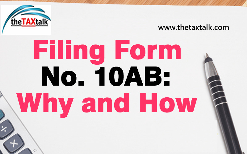 Filing Form No. 10AB: Why and How